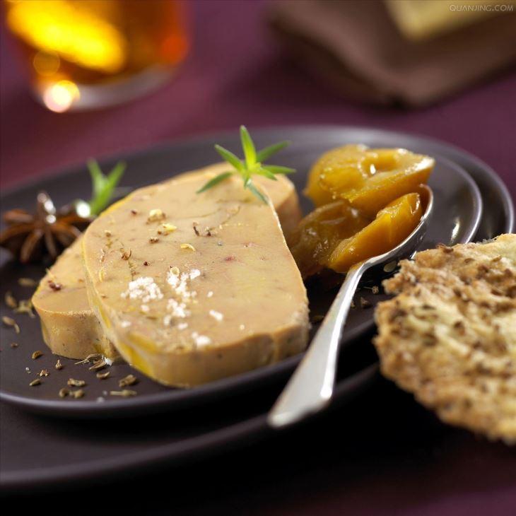 法式鹅肝苹果吐司与鸡蛋蒸鹅肝的做法